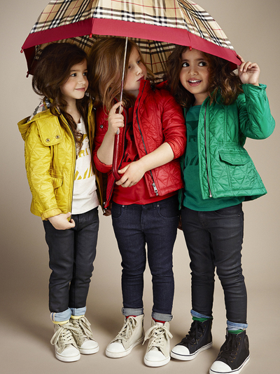 burberry kids colorat